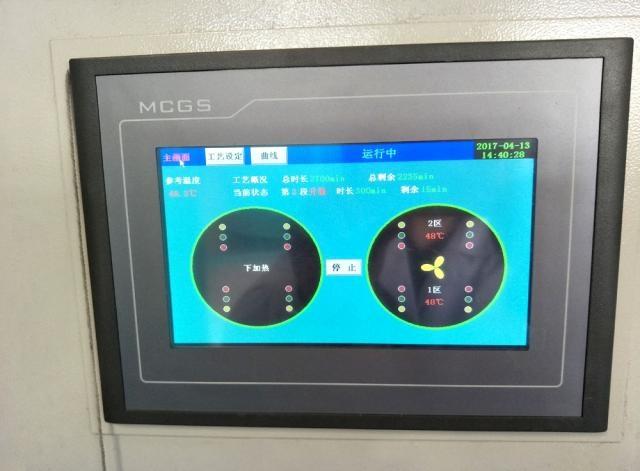 电阻加热炉控制画面