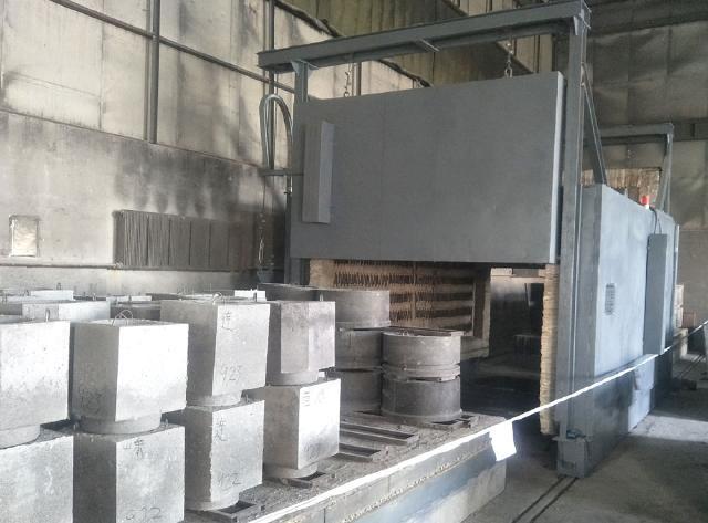 耐火材料烘干炉