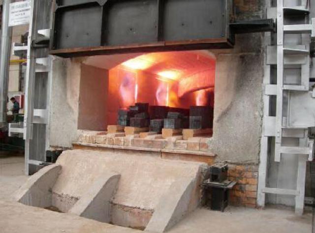 天然气单蓄热室式加热炉
