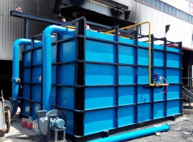 天然气单蓄热室式加热炉、推杆炉