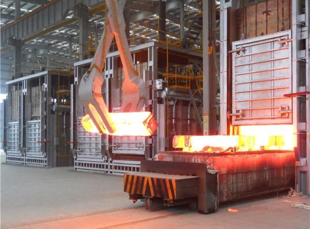 天然气蓄热式台车加热炉