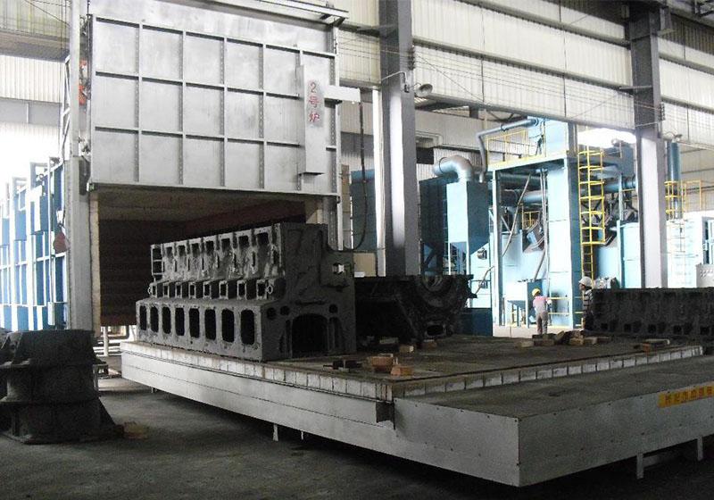 台车式电阻热处理炉